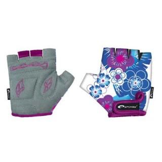 Rukavice cyklistické SPOKEY Blue Glove
