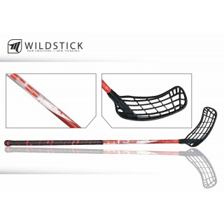 Hokejka MPS Wildstick 100 cm RED BLACK