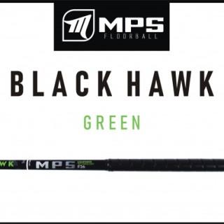 Hokejka florbal MPS Black Hawk 100cm green L