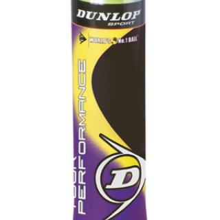 Loptičky tenisové DUNLOP Tour Performance