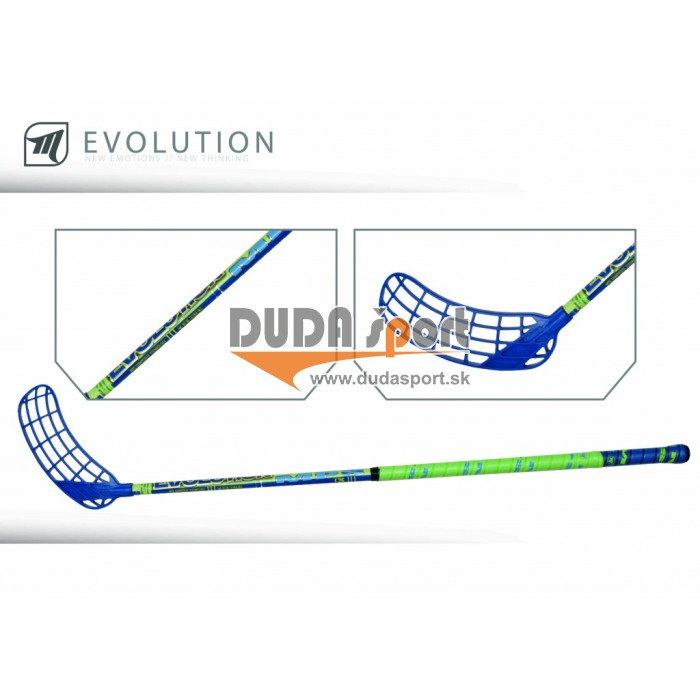 Hokejka MPS Evolution 100 cm Blue