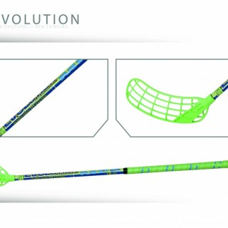 Hokejka MPS Evolution 100 cm Green