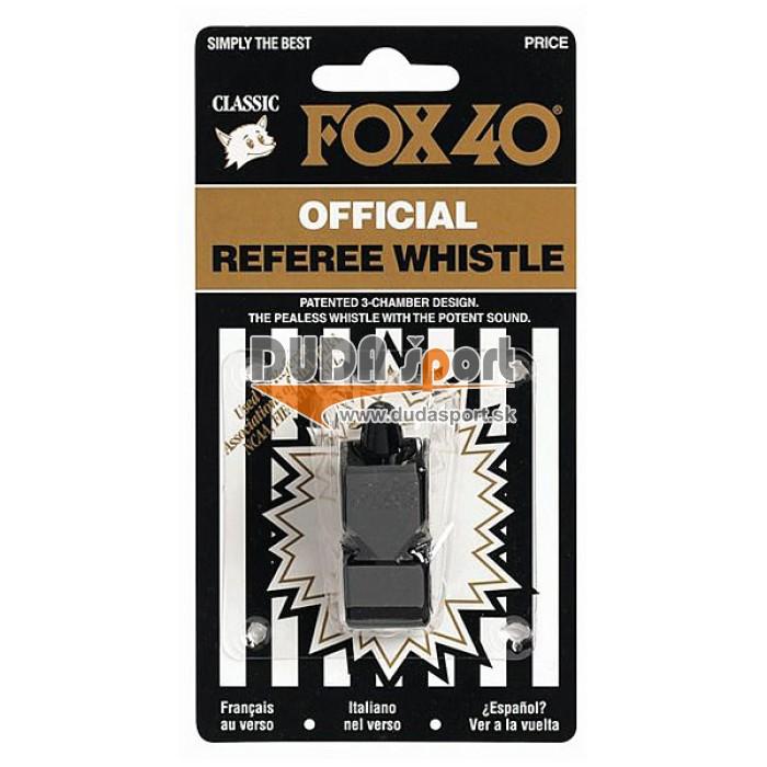 Píšťalka FOX 40 CLASSIC