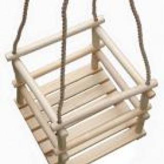 Hojdačka drevená