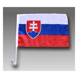 Vlajka na auto SLOVAKIA