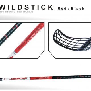 Hokejka MPS Wildstick 100 cm RED BLACK