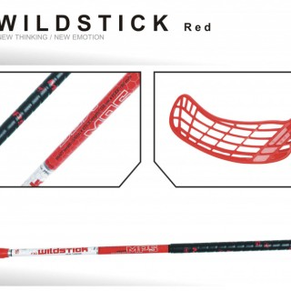 Hokejka MPS Wildstick 100 cm RED