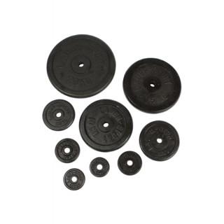 Závažie čierne lakované 25mm